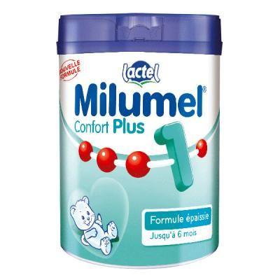 Lait Milumel confort plus 1er âge 900 g