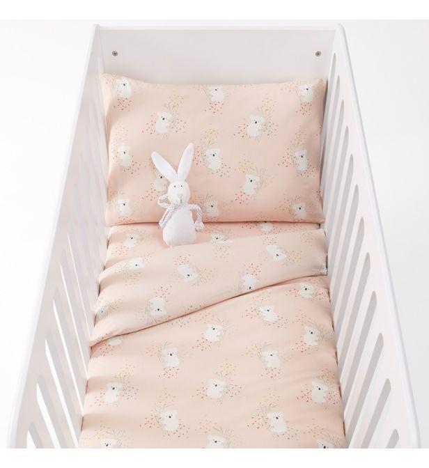 Drap-housse pour lit bébé coton, Louisa