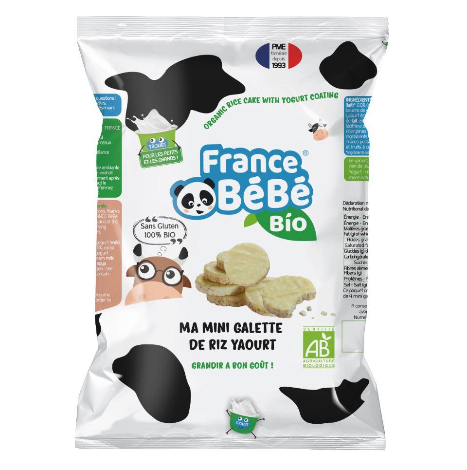 Mini galette de riz Nappées Yaourt - 84g