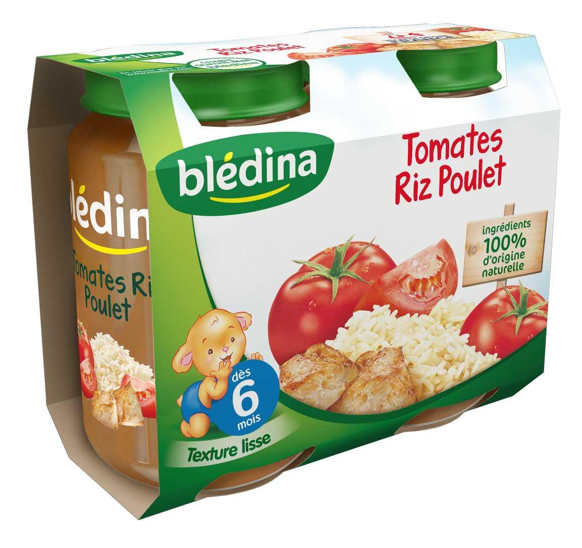 Pot Tomates Riz Poulet 2x200g