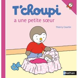 Livre T'choupi a une petite soeur