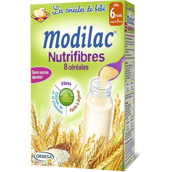 Lait nutrifibres 8 céréales