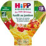 Fusilli au jambon 260 g dès 18 mois HIPP