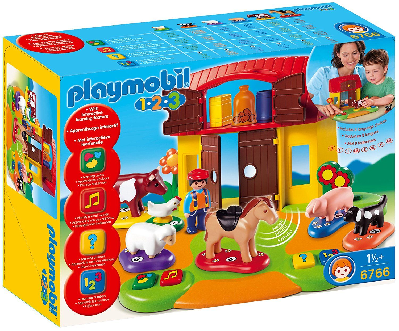 Playmobil 1.2.3 - Ferme interactive PLAYMOBIL