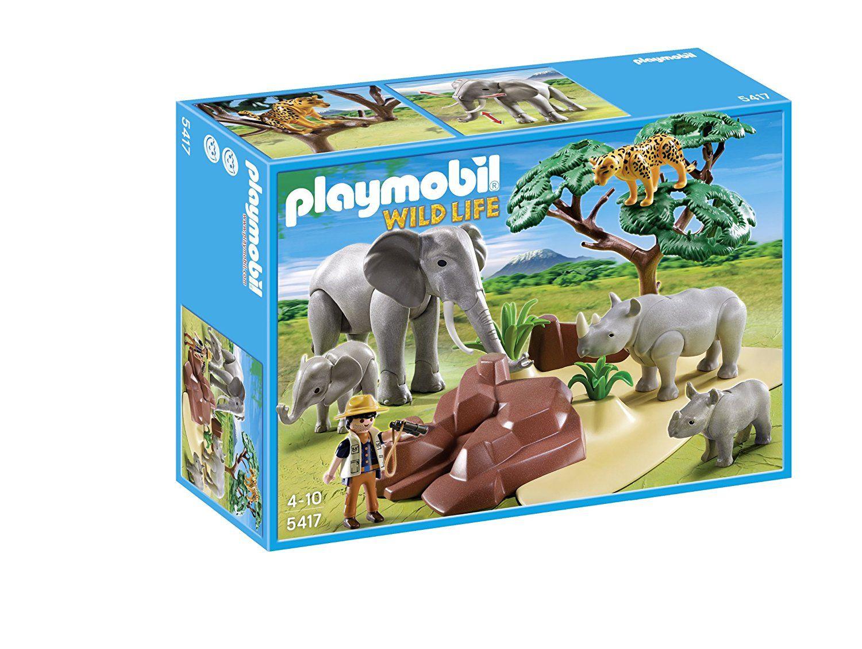 Playmobil Wild Life - Animaux de la savane avec photographe