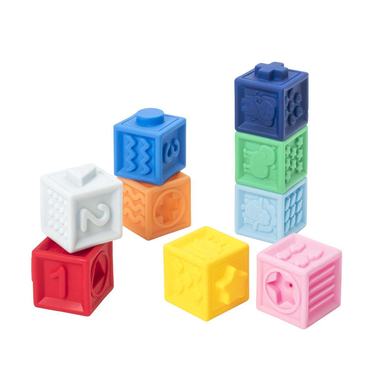 9 cubes souples Manibul