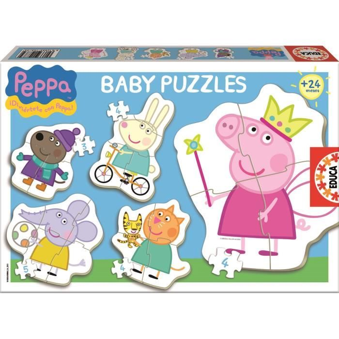 Baby puzzles Peppa Pig EDUCA