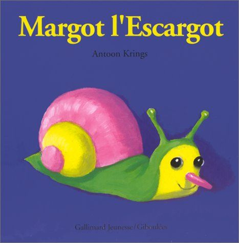 Livre Margot l'Escargot