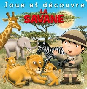 Livre-jeu La Savane
