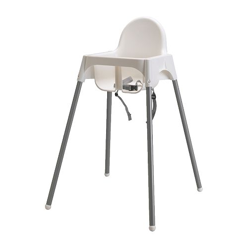 Chaise haute avec ceinture Antilop