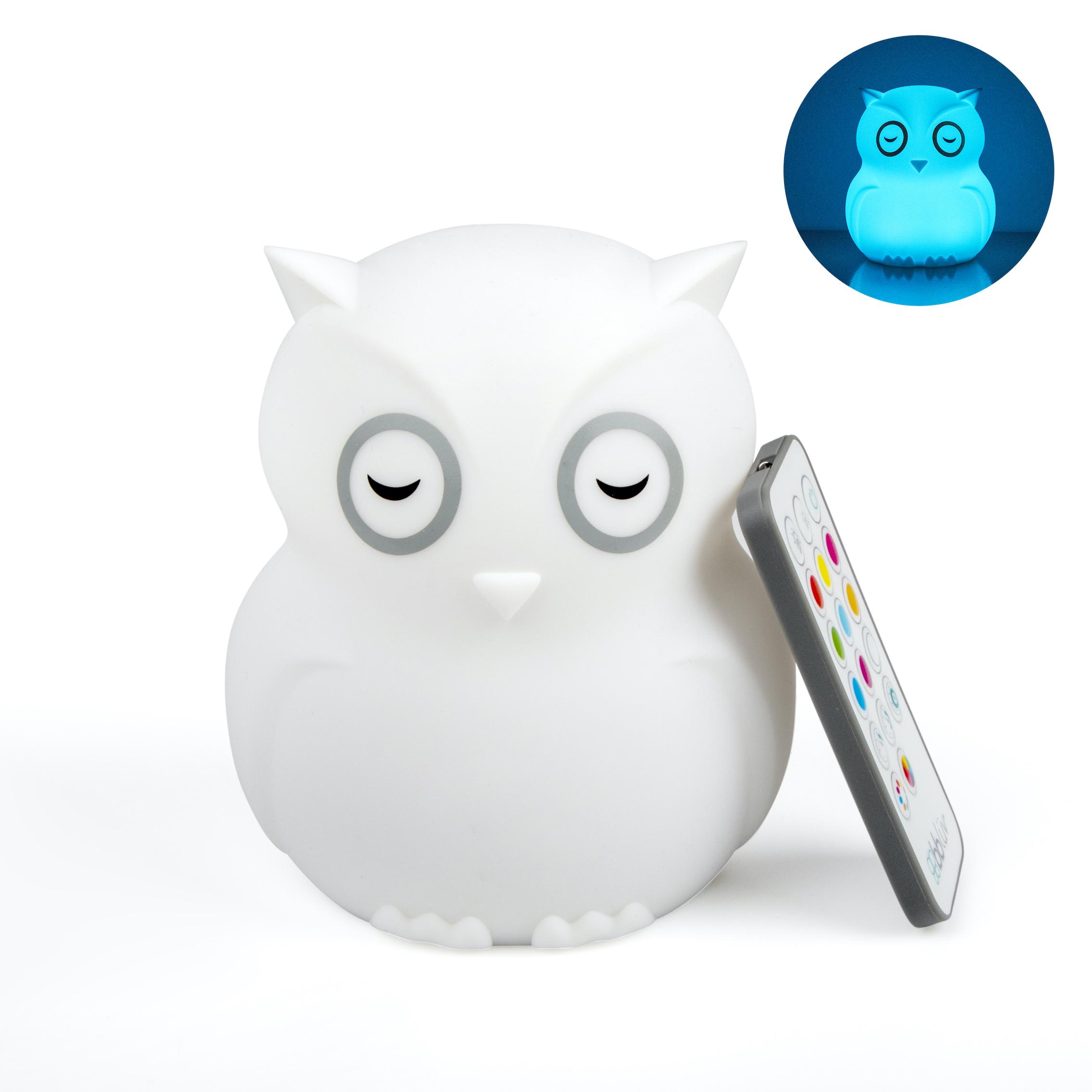 Hibü - Veilleuse portative en silicone