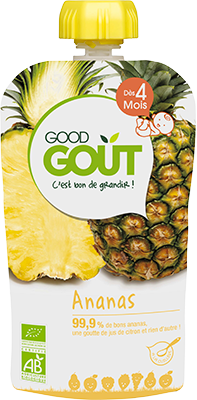 Gourde fruit Ananas