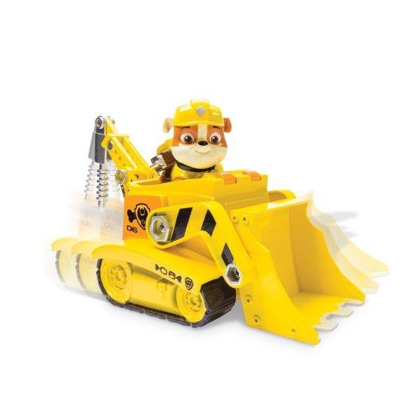 Ruben et son camion de chantier Pat' Patrouille