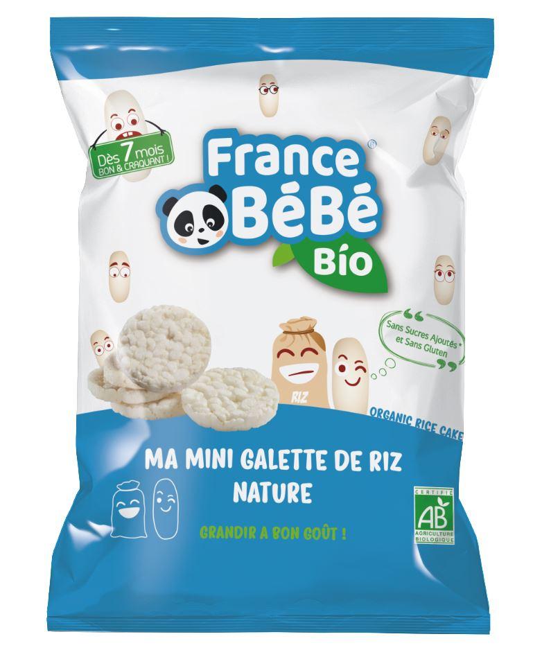 Mini galette de riz Nature - 40g - A partir de 7 mois