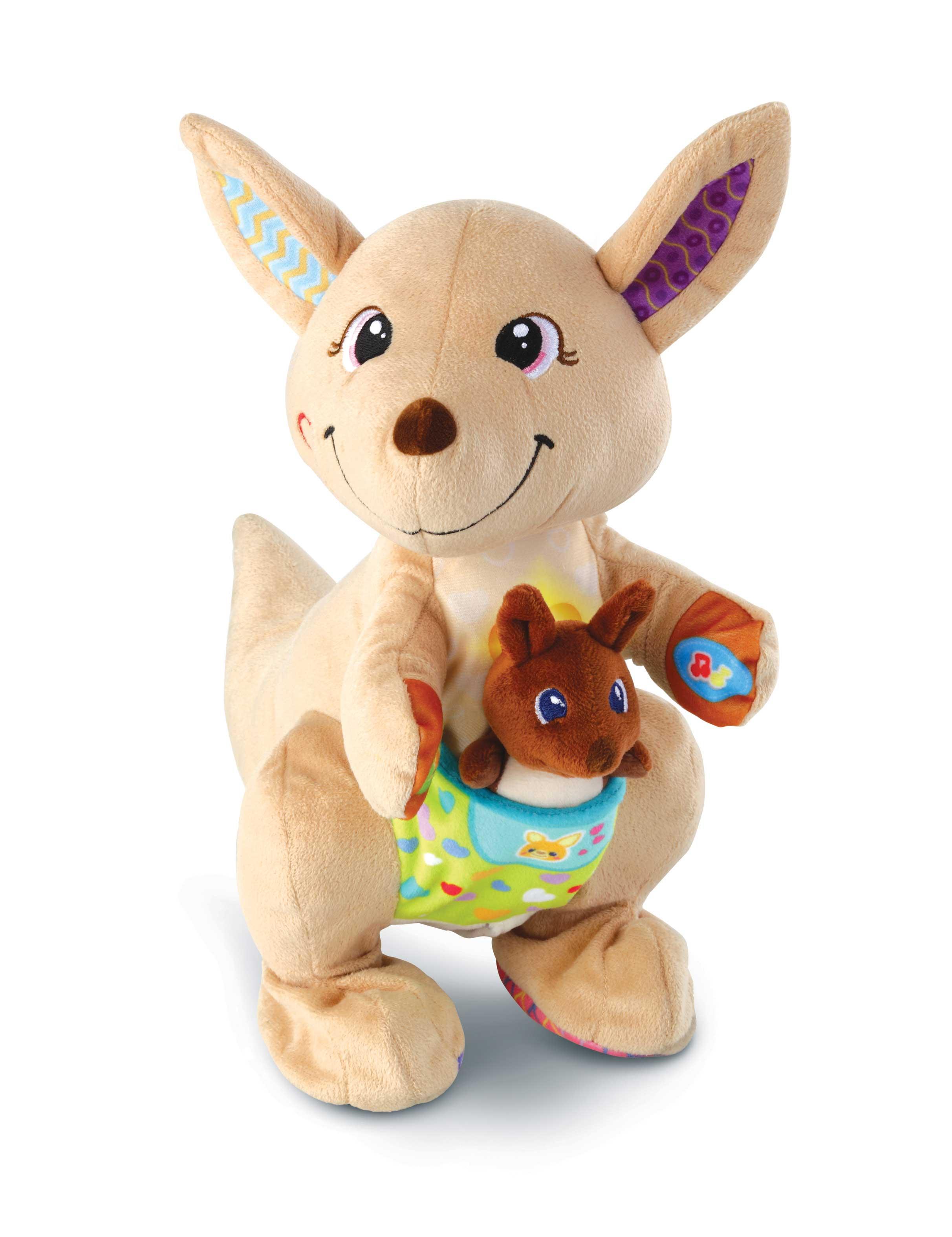 Maman kangou-love et son bébé