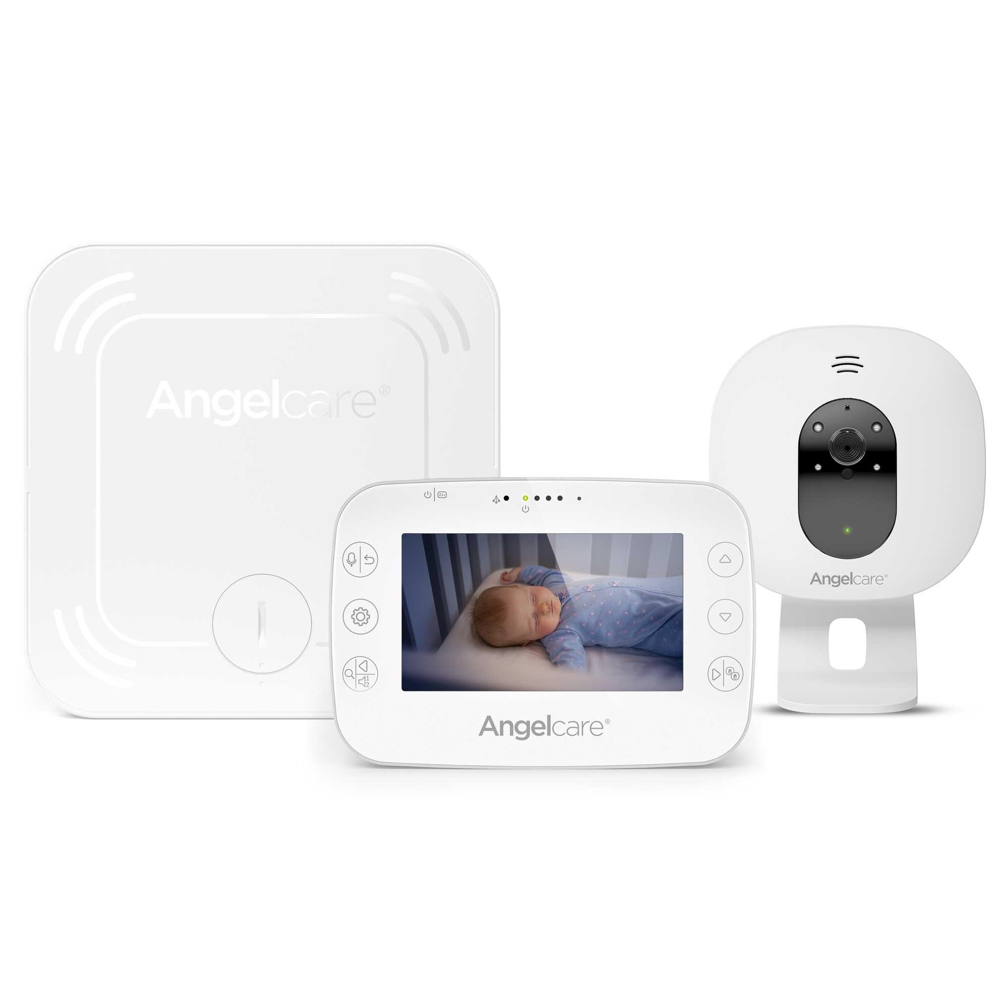 Babyphone vidéo avec détecteur de mouvements AC327 ANGELCARE
