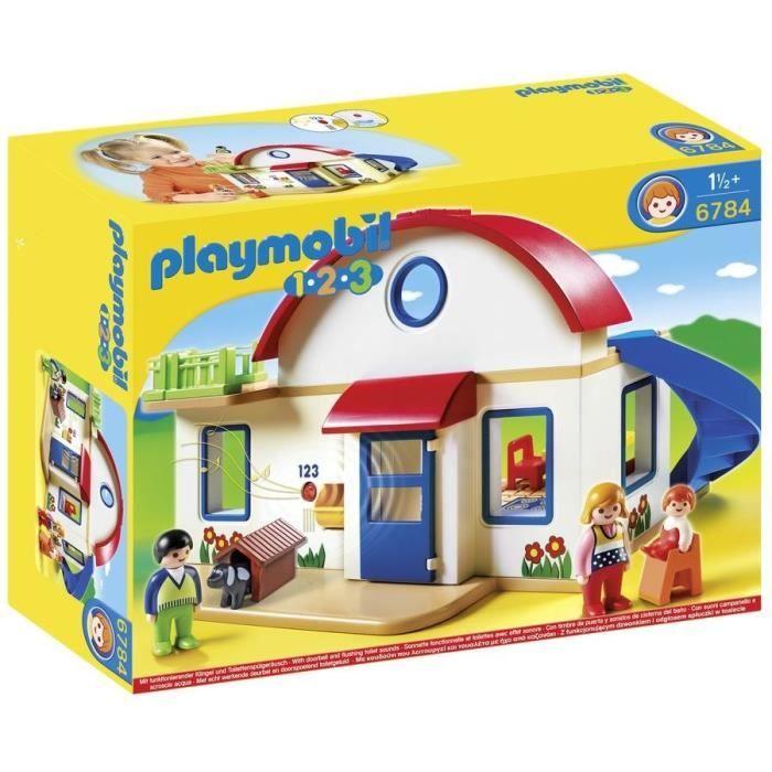 Playmobil 1.2.3 - Maison de campagne