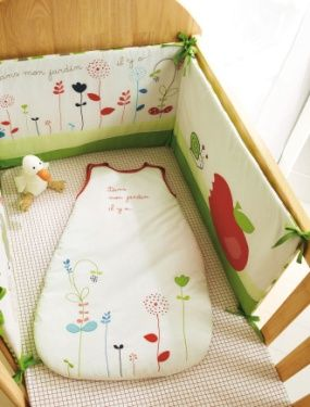 Tour de lit Jardin d ete bebe