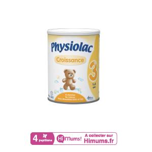Lait Physiolac 3 Croissance PHYSIOLAC