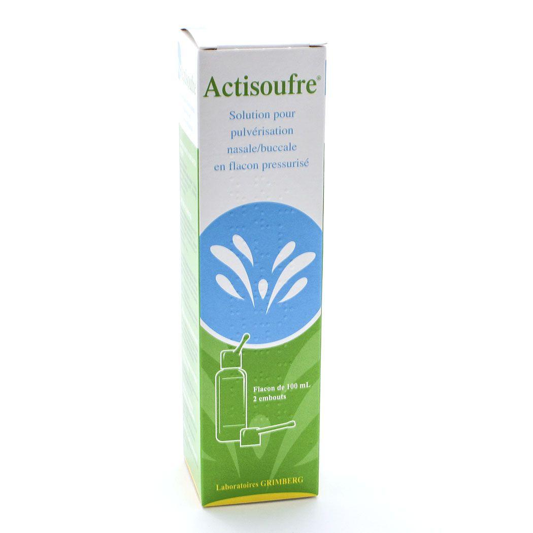 Actisoufre solution nasale et buccale -