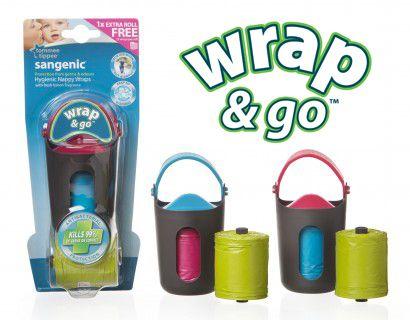 Distributeur sacs à couches Wrap & Go