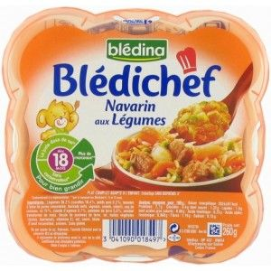 BLEDICHEF Navarrin de légumes 18 mois+