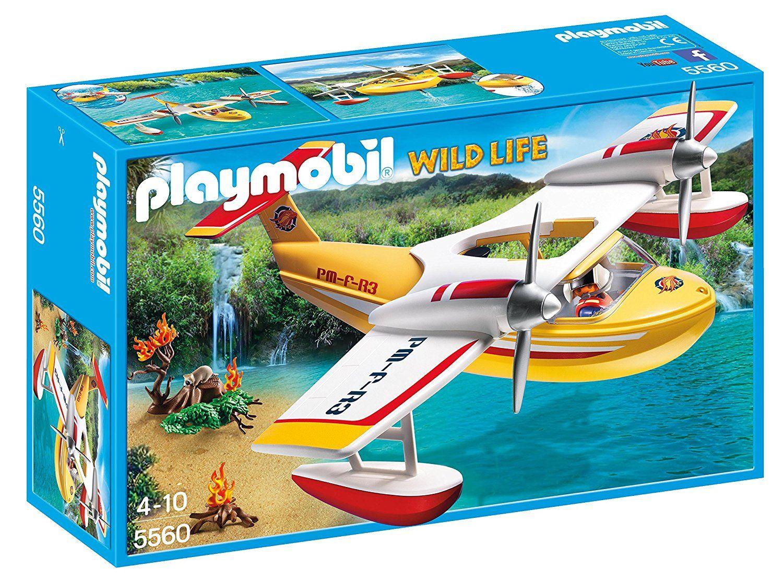 Playmobil Wild Life - Hydravion de sauvetage