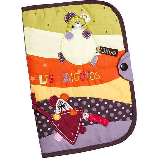 Protège carnet de santé Zigotos