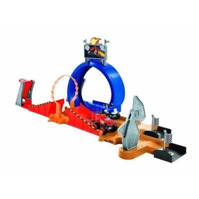Circuit de voitures Monster Dôme - Blaze et les Monster Machines FISHER PRICE