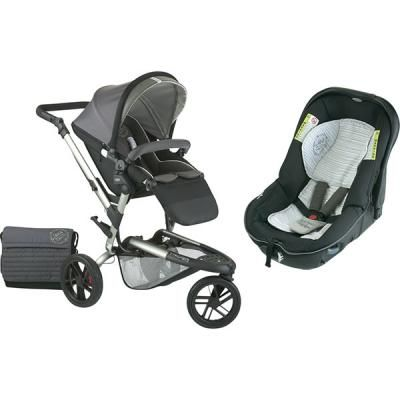 Poussette duo Trider et siège Matrix light
