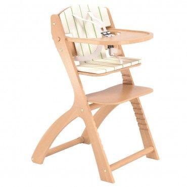 Chaise haute évolutive avec coussin BEBE 9