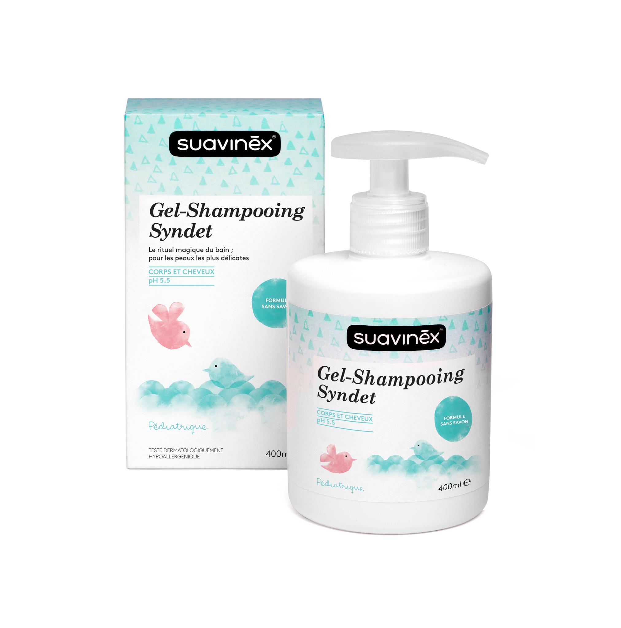 Gel douche-shampooing sans savon SUAVINEX