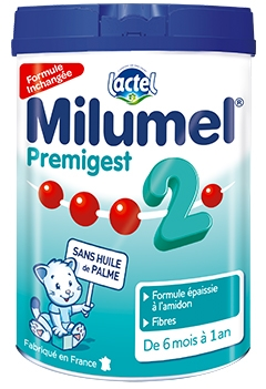 Lait Milumel Premigest 2ème âge