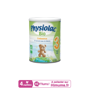 Lait Physiolac 3 Bio 900g