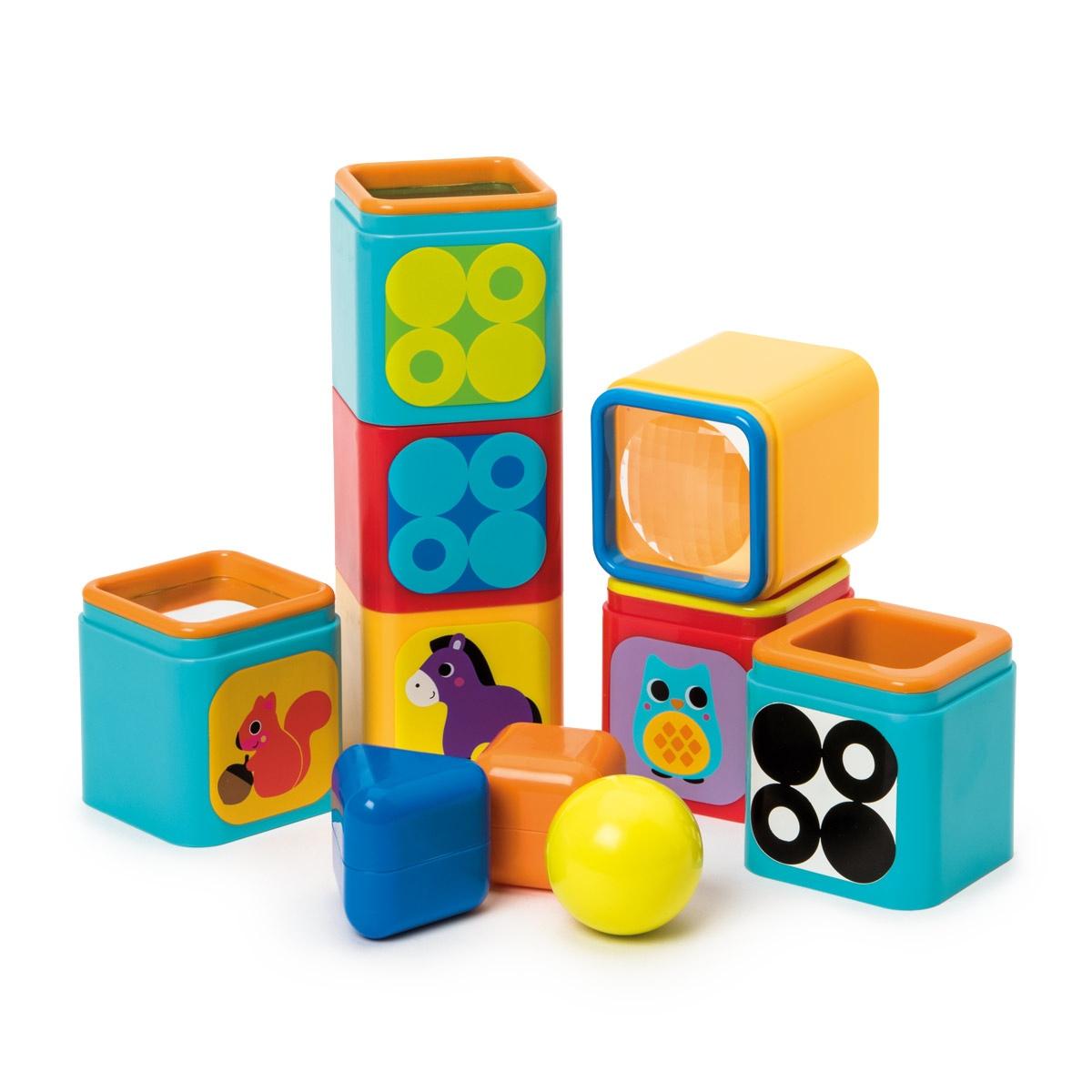 Cubes des découvertes OXYBUL