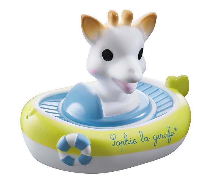 Le bateau arroseur Sophie la girafe