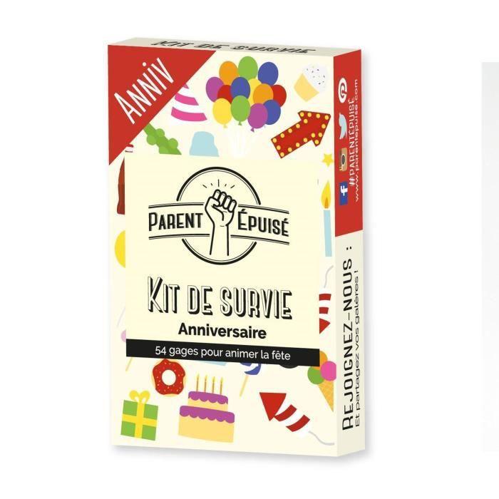 Parent Épuisé - Kit de survie Anniversaire