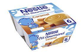 P'tit Gourmand Caramel (4x100 g) NESTLÉ