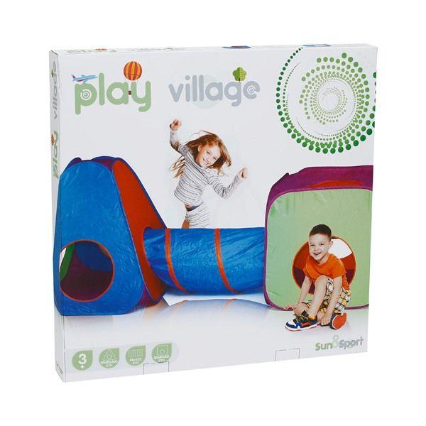 Tente 3 en 1 Play Village