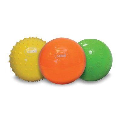 Coffret de trois balles sensorielles