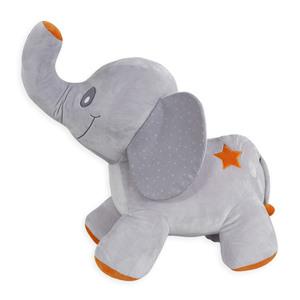 Léo et Gaufrette grande peluche éléphant