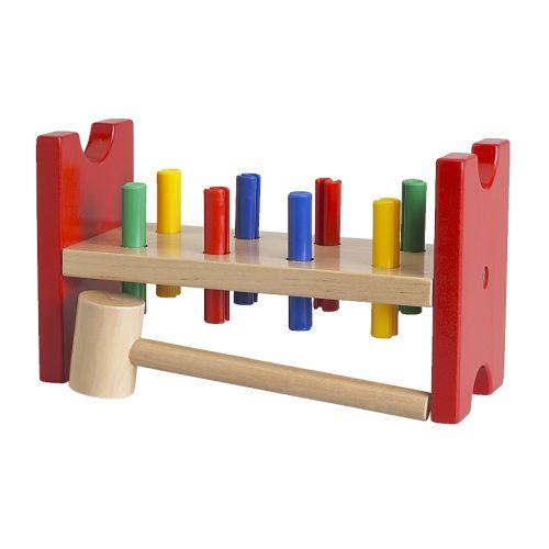 Planche à clous et marteau Mula IKEA
