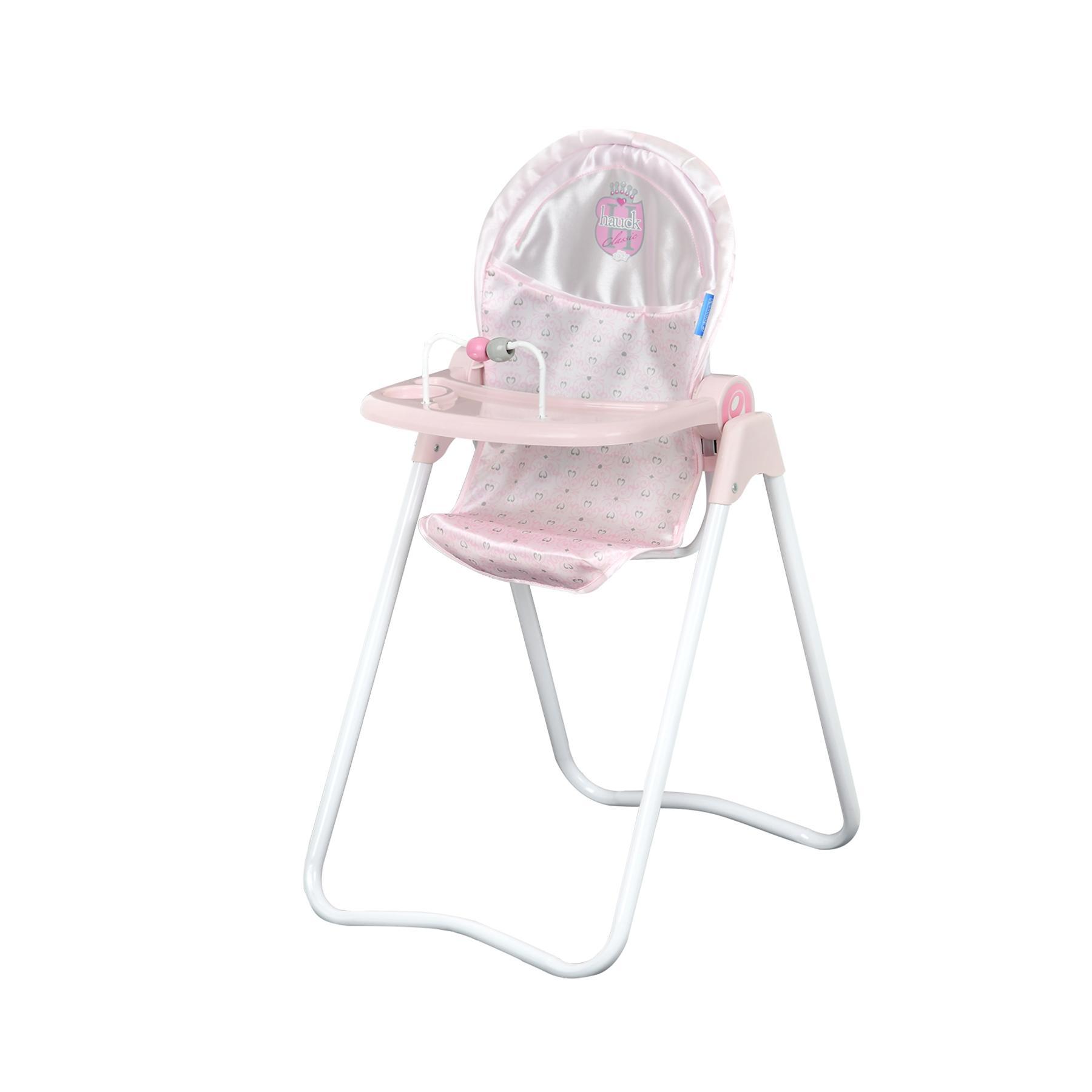 Chaise haute pour poupée Princess