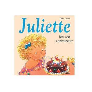 Livre Juliette fête son anniversaire