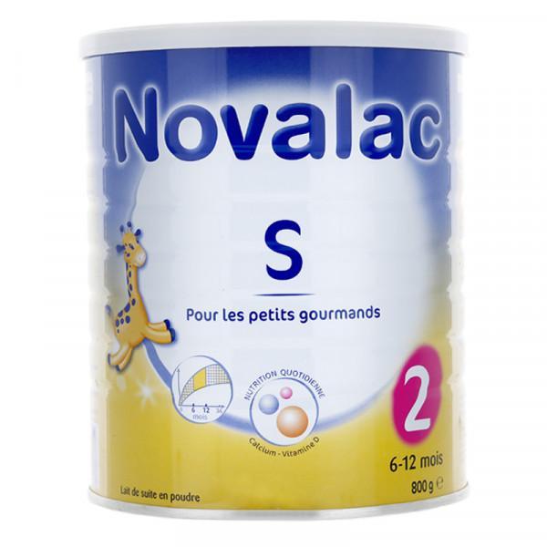 Lait Novalac Satiété 2ème âge