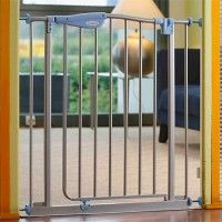 Barrière de porte METAL avec extension BABYSUN NURSERY