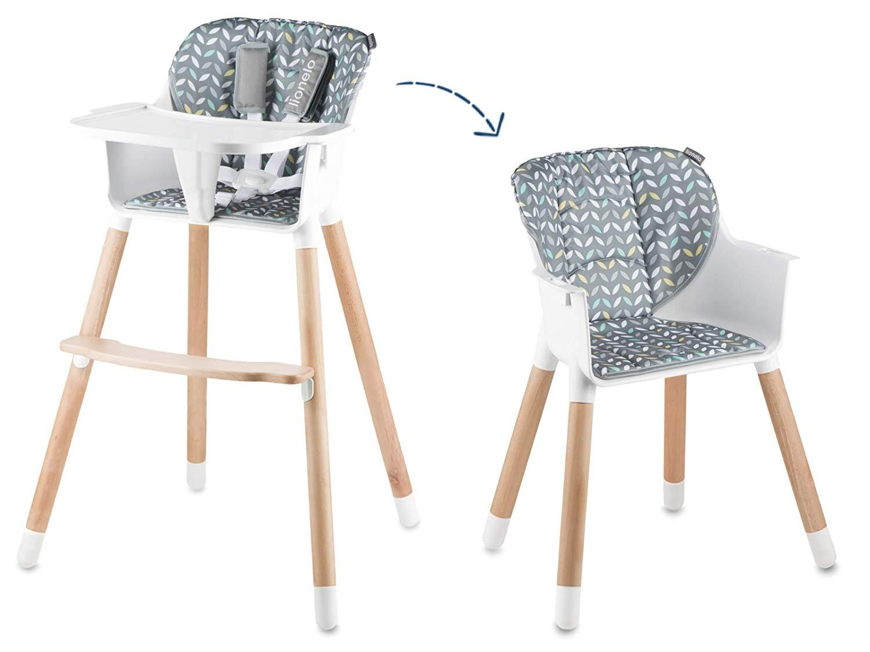 Chaise haute 2 en 1 Koen  LIONELO