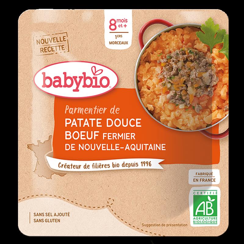 Parmentier de Patate douce Boeuf fermier d'Aquitaine