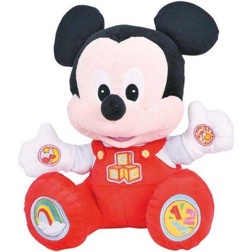 Peluche Mickey learning