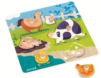 Puzzle Happy Farm JANOD